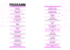 Kadetten_Jahreskonzert13 Programm