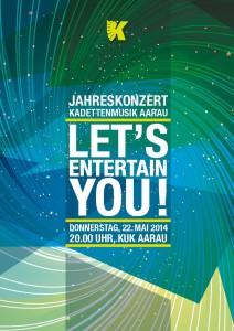 Kadetten_Jahreskonzert14 Flyer